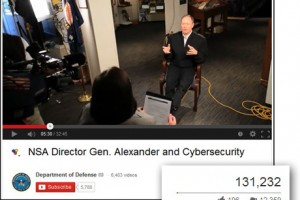 NSA video dislikes