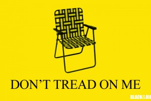 real Tea Party flag