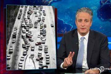 Daily Show Atlanta snow