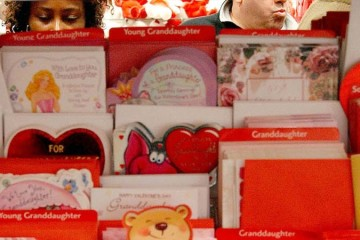 Valentine's Day Spirit Grips The U.S.
