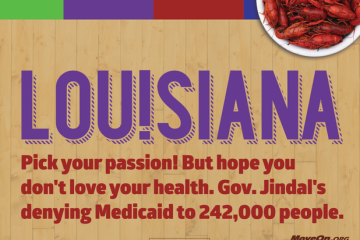 MoveOn Louisiana parody