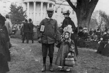 WH Easter Egg Roll 1889
