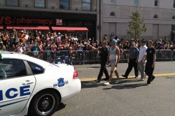 Capital Pride DC cops