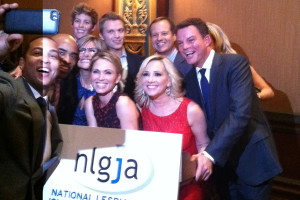 Shepard Smith at NLGJA