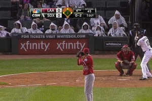 White Sox ponchos