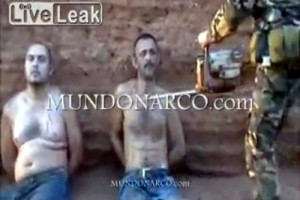 Mexican drug cartel execution