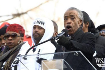 Sharpton DC march