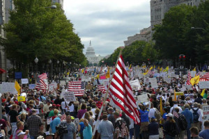 Tea Party rally DC